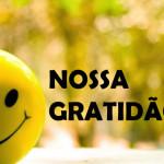 NOSSA GRATIDÃO