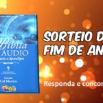 CONCORRA A UMA BÍBLIA EM ÁUDIO NARRADA POR CID MOREIRA